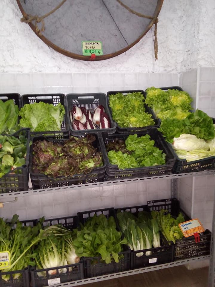 spaccio frutta e verdura